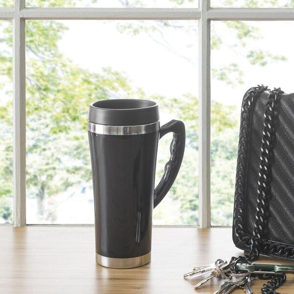Travel Mug with Handle (Set of 2) by Home Basics