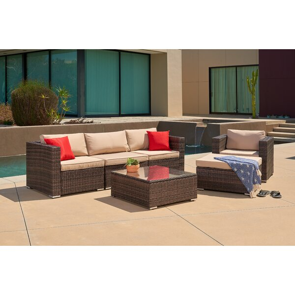 6 Piece Sofa Seating Group with Cushions by SUNCROWN