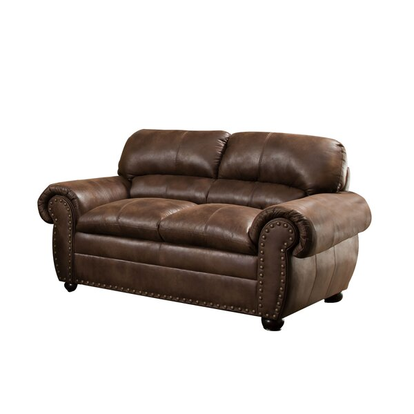 Stamford Loveseat by Simmons Upholstery by Alcott Hill