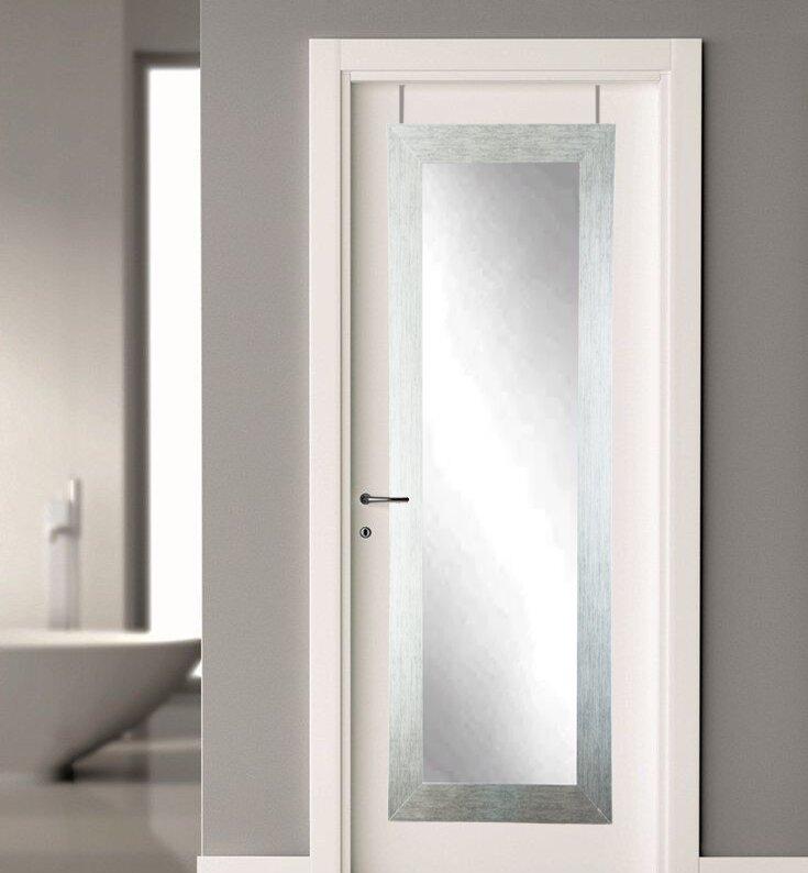 Over the Door Full Length Mirror & BrandtWorksLLC Over the Door Full Length Mirror \u0026 Reviews | Wayfair