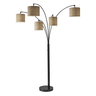 Tree floor lamps modern contemporary designs allmodern presley 82 antique bronze tree floor lamp aloadofball Gallery