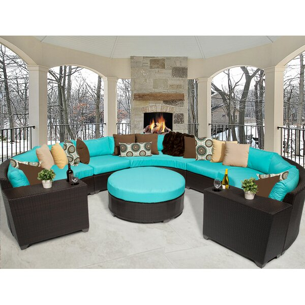 Tegan 8 Piece Sectional Seating Group with Cushions by Sol 72 Outdoor Sol 72 Outdoor