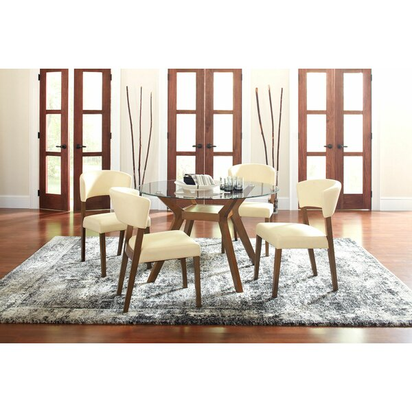 Prunty 5 Piece Dining Set by Brayden Studio