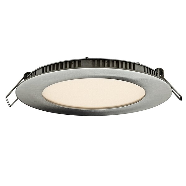Round Panel LED Recessed Trim by DALS Lighting