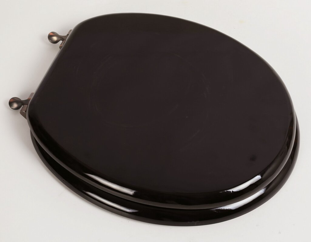 ... Charming Black Wooden Toilet Seat Gallery Best Image ...