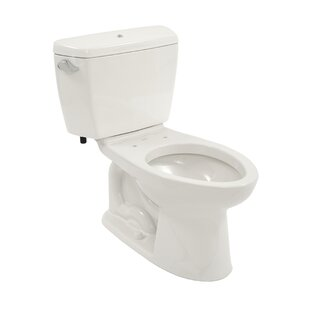 Read Reviews Drake 1.6 GPF Elongated Two-Piece Toilet (Seat Not Included) By Toto