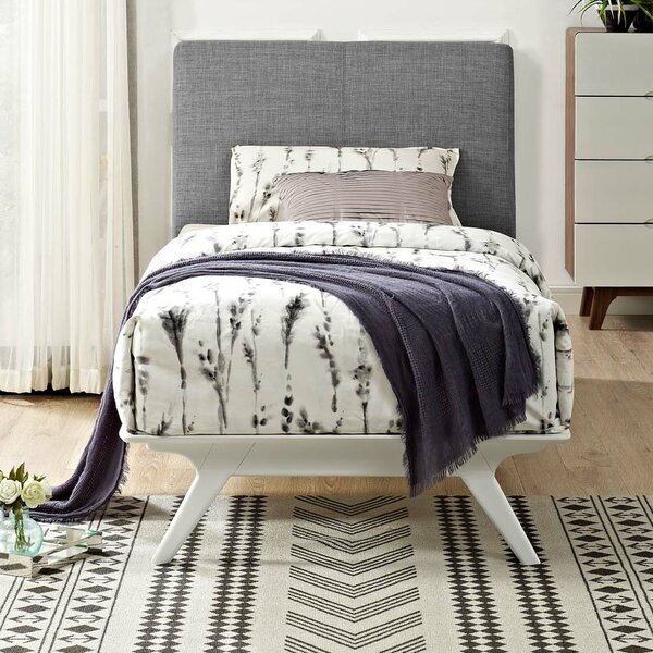 Arabella Upholstered Platform Bed by Modern Rustic Interiors