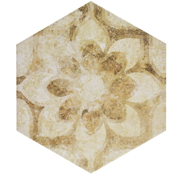 Roche 8.63 x 9.88 Porcelain Field Tile in Brown by EliteTile