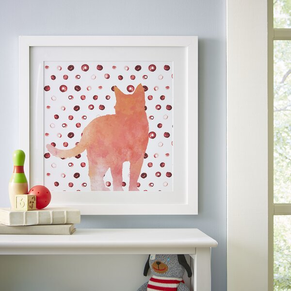 Here Kitty Framed Print by Birch Lane Kids™