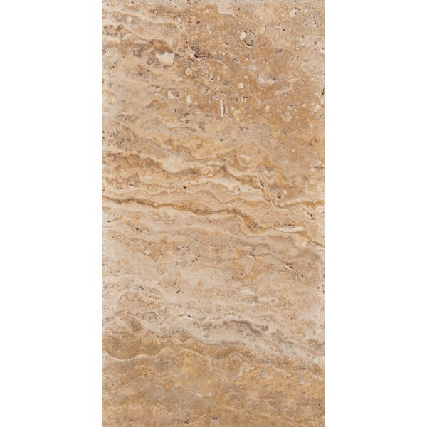 Travertine 8 x 16 Chiseled Field Tile in Valencia by Emser Tile