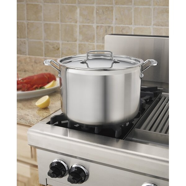 MultiClad Pro 12 qt. Stockpot with Lid by Cuisinart