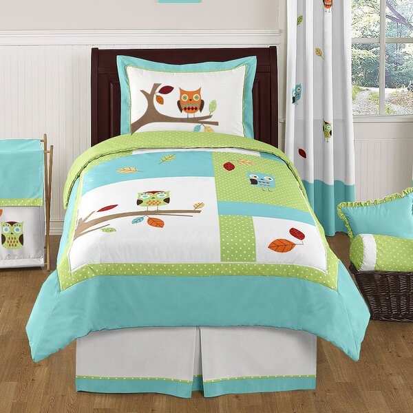Hooty Comforter Set by Sweet Jojo Designs