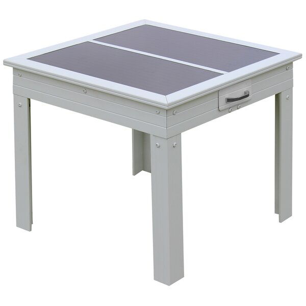 Rochester Glass Side Table by Nature Power