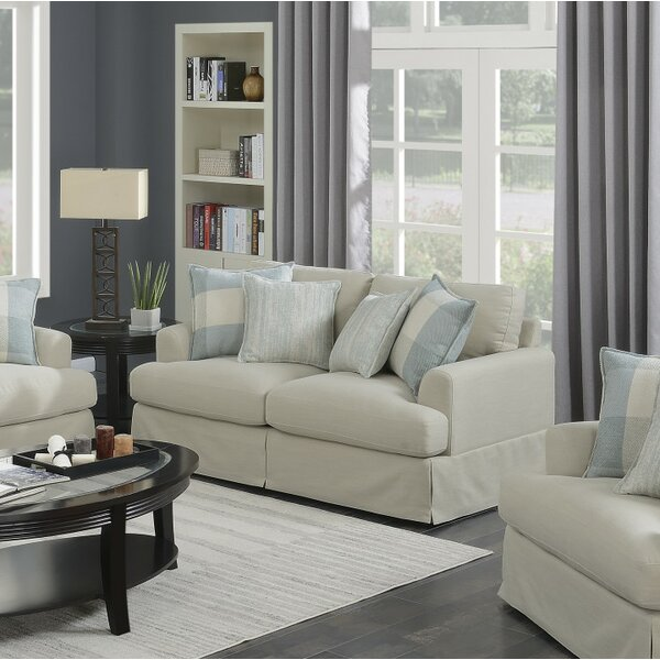 Online Shopping Christie Loveseat by Rosecliff Heights by Rosecliff Heights