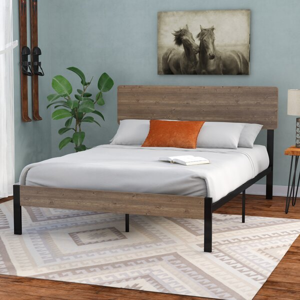 Best #1 Partee Platform Bed By Loon Peak Today Sale Only