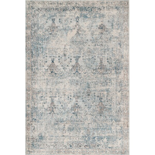 Wimberley Hand-Woven Cotton Beige Area Rug by Ophelia & Co.