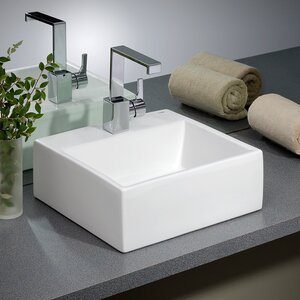 bathroom vessel sinks. Save to Idea Board  Cheviot Products Rio Vitreous China Square Vessel Bathroom Sink Sinks You ll Love
