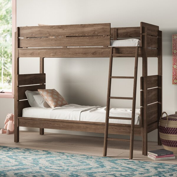 Finkle Twin Over Twin Bunk Bed by Mistana