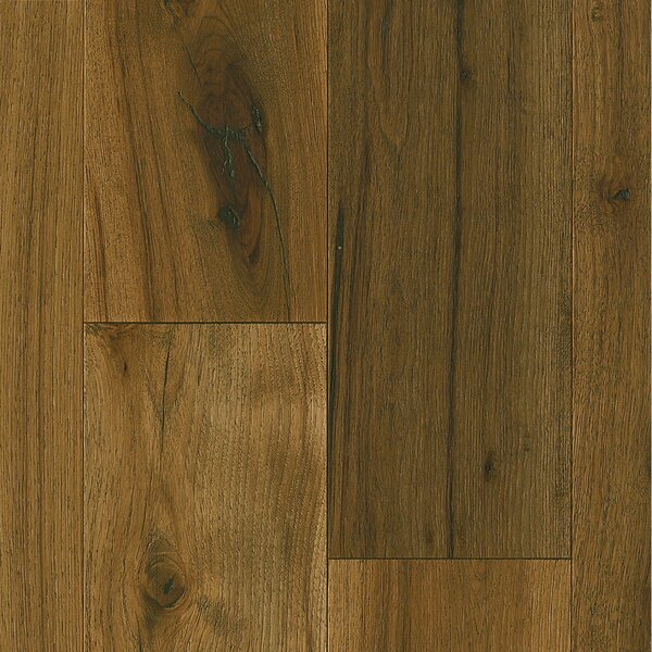 7-1/2 Engineered Hickory Hardwood Flooring in Deep Etched Timber Mill by Armstrong Flooring