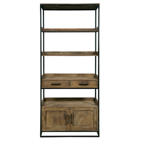 Fort Oglethorpe Etagere Bookcase by Laurel Foundry Modern Farmhouse