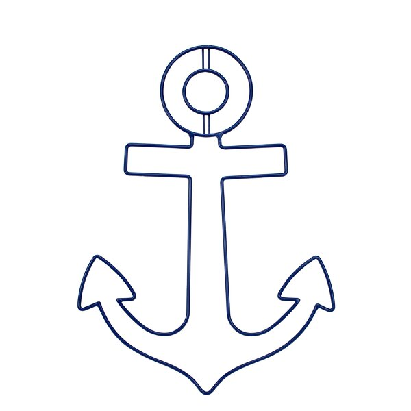 Nautical Anchor Wire Wall Décor by Sadie & Scout