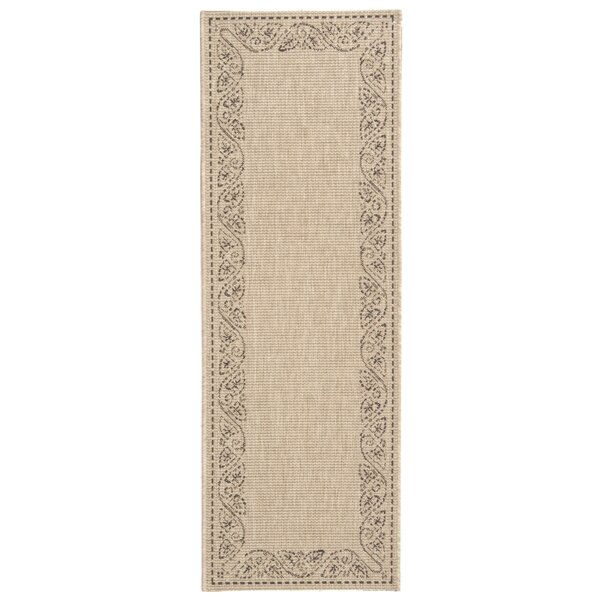 Laurel Tan Outdoor Area Rug by August Grove