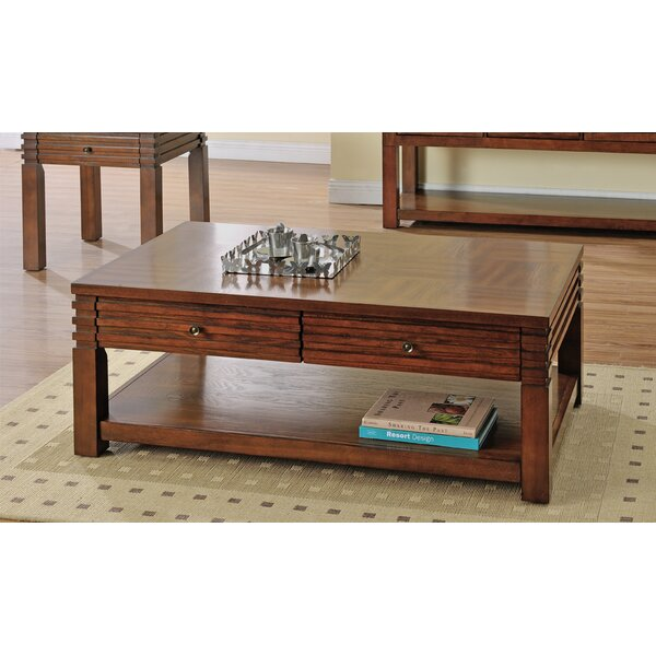 Stegner Coffee Table with Storage by Millwood Pines