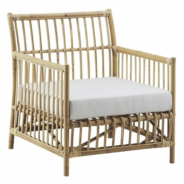 Caroline Rattan Patio Chair with Cushions by Sika Design