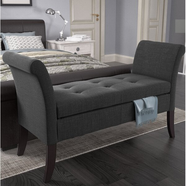 Adelia Upholstered Storage Bench by Wade Logan