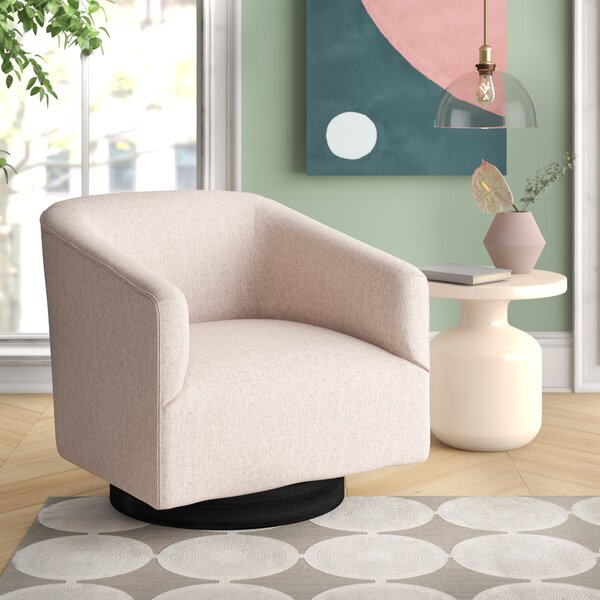 Kylie Swivel Barrel Chair By Foundstone