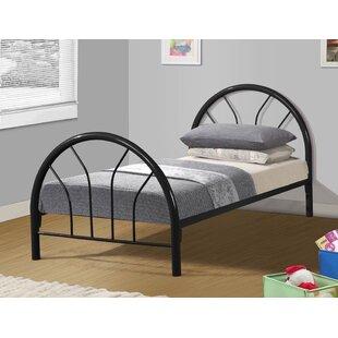Best Reviews Craigsville Metal Hoop Slat Bed ByHarriet Bee