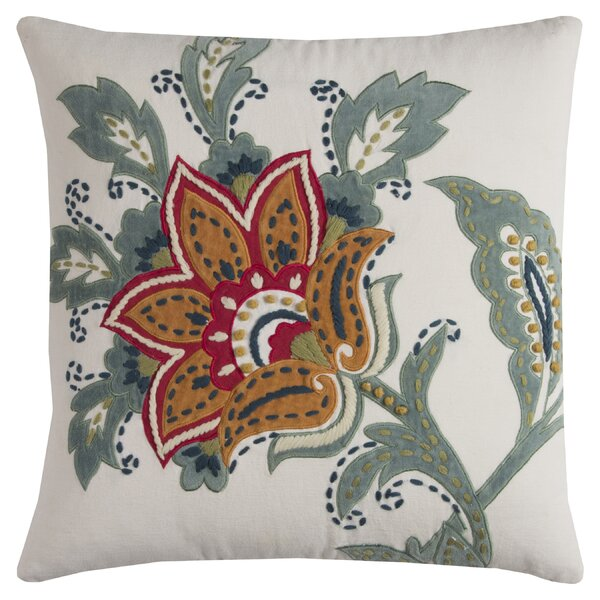 Bluff Canyon Cotton Throw Pillow by Red Barrel Studio