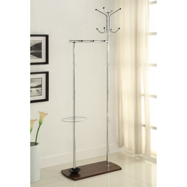 Vytis Metal Coat Rack by Latitude Run
