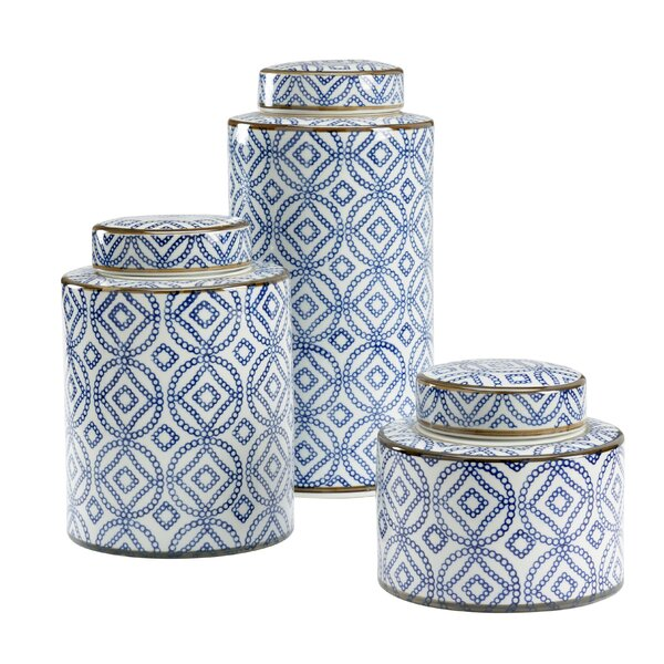 Thelma 3 Piece Kitchen Canister Set