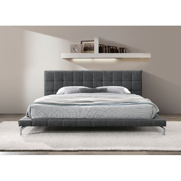 Lew Upholstered Platform Bed By Latitude Run
