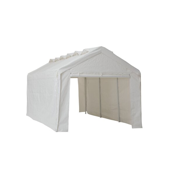 19.5 Ft. W X 10 Ft. D Metal Party Tent By Sunjoy.