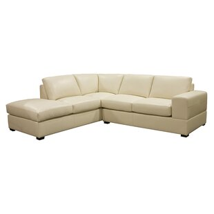 Brady Leather Sectional