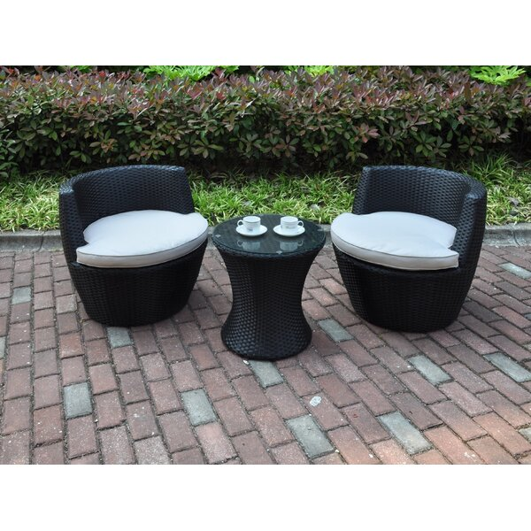 3 Piece Conversation Set with Cushions by JB Patio