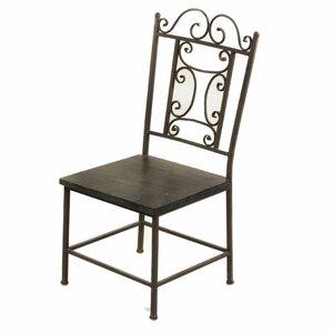 Burke Wooden Side Chair Fleur De Lis Living