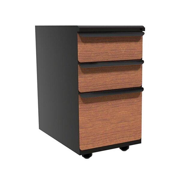 Weyant 3-Drawer Mobile Vertical Filing Cabinet
