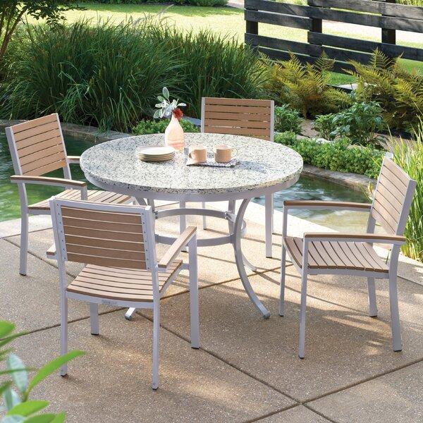 Travira 5 Piece Teak Dining Set by Oxford Garden