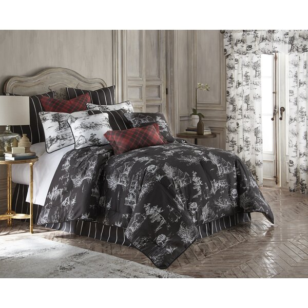 Captivating August Grove Bergenfield Cotton Comforter Set   Wayfair
