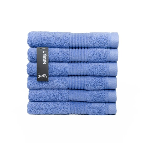 Ultimate Turkish Cotton Hand Towel (Set of 6) by Chortex