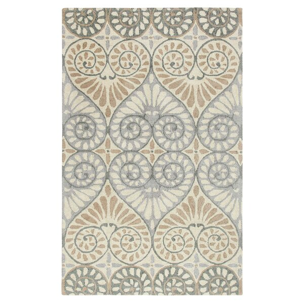 Dew Drop Hand-Tufted Pewter Area Rug by CompanyC