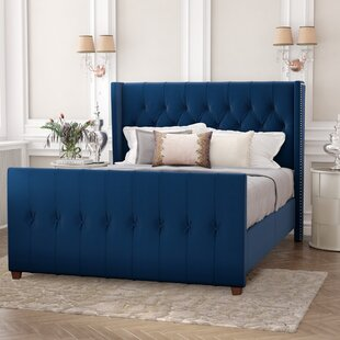 Brie Upholstered Standard Bed by House of Hampton