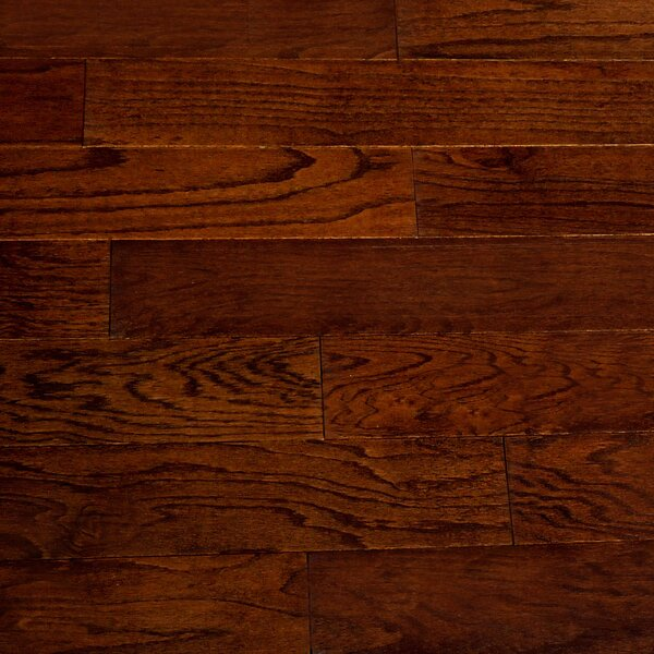 Mittler 5.5 Engineered Red Oak Hardwood Flooring in Oak by Welles Hardwood