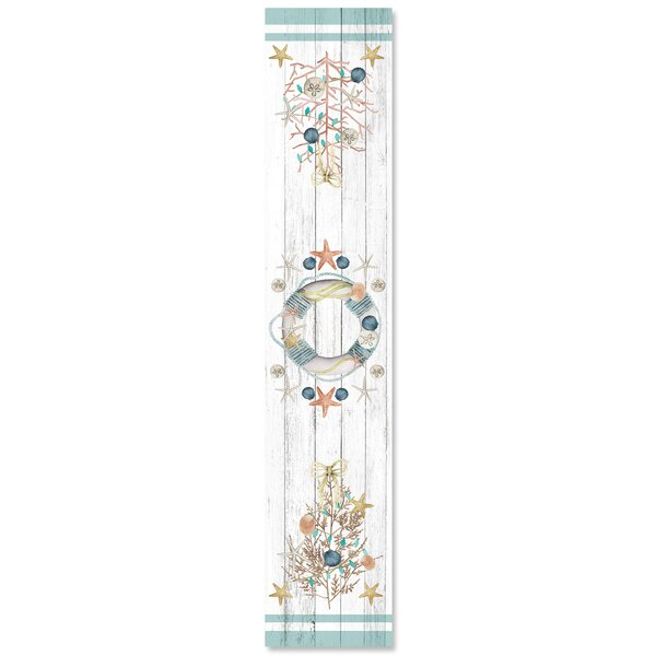Pawtucket Coastal Christmas Table Runner by Rosecliff Heights