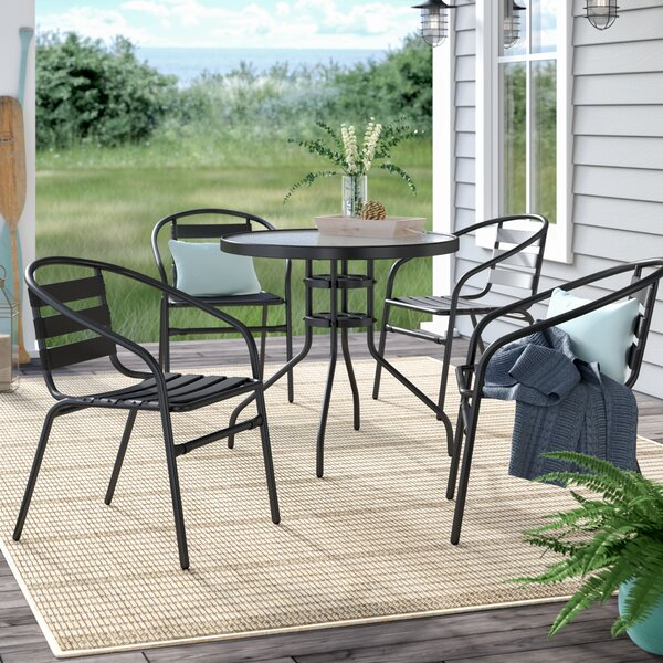 Letona 5 Piece Dining Set By Zipcode Design