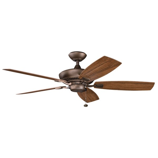 52 Princeton 5-Blade Patio Ceiling Fan by Andover Mills