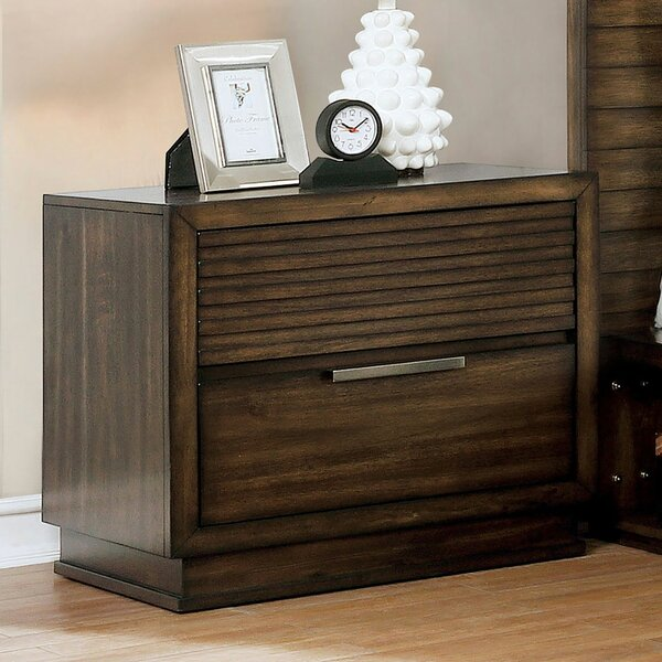 Nickles 2 Drawer Nightstand by Foundry Select